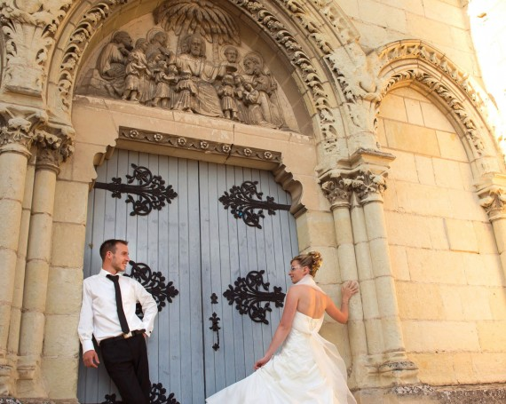 Photo de couple – La porte de l'Eglise
