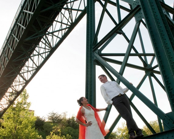 Photo de couple – Le pont