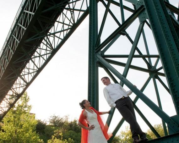 Photo de couple – Le pont