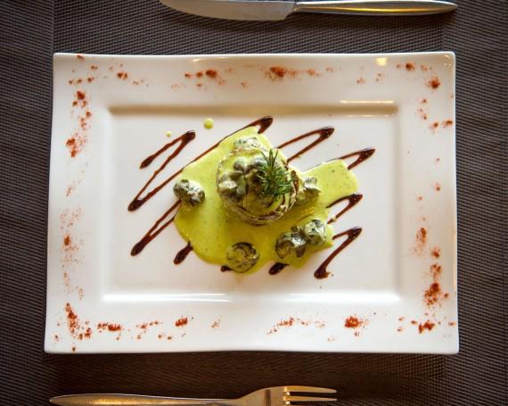 L'assiette du chef – Restaurant le Cygne