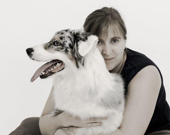 Photo maître et chien